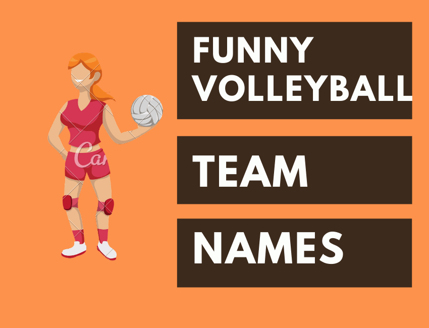 400+ CLEVER Funny Volleyball Team Names 2020