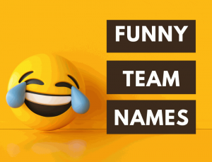 Funny Team Names
