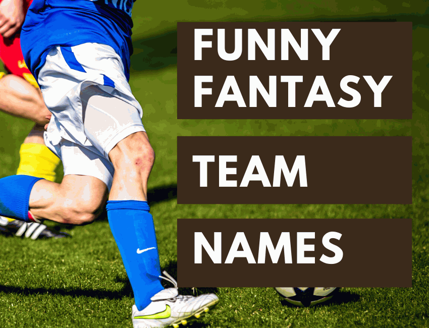 320+ New Funny Fantasy Football Team Names 2020