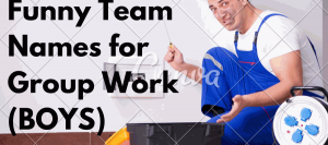 Funny Team Names For Work