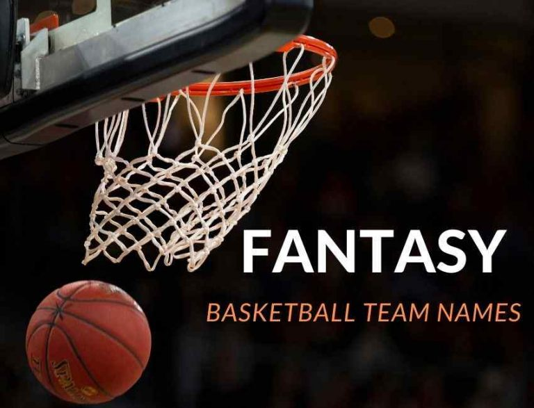 Fantasy Basketball Team Names