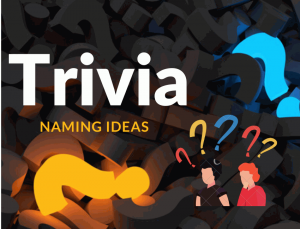 Trivia Naming Ideas