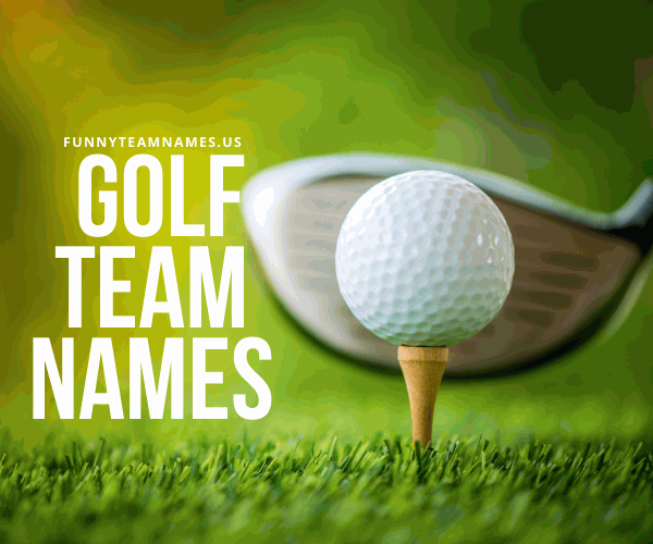 Golf Team Names