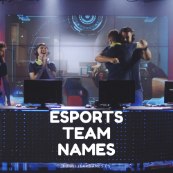 293 Latest Esports Team Names 2021 (Cool, Funny and Best)