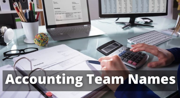 Accounting Team Names