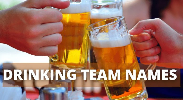 Drinking Team Names